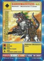 B - CARTE DIGIMON DARKTYRANNOMON BO-79 FR BON ETAT - Trading Cards