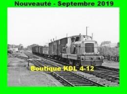AL 602 - Train - Locotracteur CFD N° 207 En Gare De DRACY-SAINT-LOUP - Saône Et Loire - CFD Morvan - Frankrijk