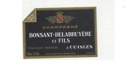 CHAMPAGNE BONSANT DELABRUYERE ET FILS A CUISLES  ****  A SAISIR **** - Champagne