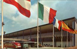 !  Ansichtskarte Exposition Universelle Bruxelles 1958 Weltausstellung Brüssel, Eisenbahn, Chemin De Fer, Railways, TEE - Treinen