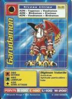 B - CARTE DIGIMON GARUDAMON BO-89 FR BON ETAT - Trading Cards
