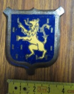 392 - Medaille - MANTEAU D'ARMES - LION - LEEUW - WAPENSCHILD - España