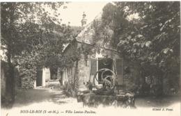 BOIS LE ROI - Villa Louisa-Pauline - Bois Le Roi
