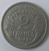 2  FRANCS 1945 - MORLON - Alu - - I. 2 Francs