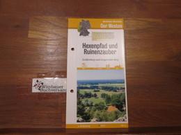 [Wanderkarte] Nordrhein-Westfalen: Der Westen. Hexenpfad Und Ruinenzauber. Tecklenburg Und Lengericher Berg - Unclassified