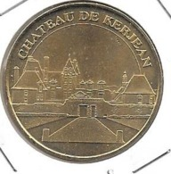 Jeton Touristique 29 Chateau De Kerjean 2007 - Monnaie De Paris