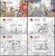 Indonesia - Indonesie New Issue 03-08-2018 (6 Blokken) - Indonesia