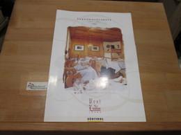[Prospekt] Post Hotel Lamm Kastelruth Südtirol 2000/2001 - Tour Guide