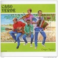 Cap Vert-Cabo Verde-1991-Instrument Des Musique-Accordéon, Guitare-B16***MNH - Kap Verde