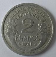 2 Francs 1941 - Morlon - - I. 2 Francs