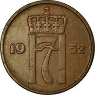 Monnaie, Norvège, Haakon VII, 5 Öre, 1952, Kongsberg, TTB, Bronze, KM:368 - Noruega