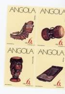 Angola--1991-Instruments De Musique-YT 820/2-Feuillet**MNH-valeur 5.50 - Música