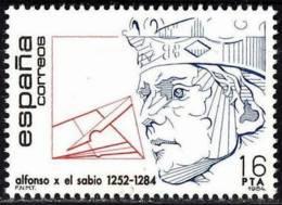 España. Spain. 1984. Alfonso X El Sabio (1252 - 1284) - Familias Reales