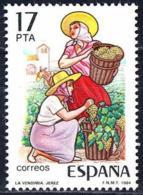 España. Spain. 1984. Fiestas Populares. La Vendimia. Jerez De La Frontera. Cadiz - Agricultura