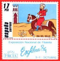 España. Spain. 1984. EXFILNA '84. Murcia. Dia Del Sello. Correo Arabe - 1931-Oggi: 2. Rep. - ... Juan Carlos I