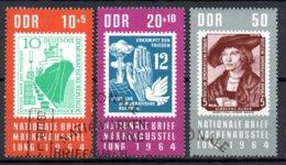 DDR  1056 - 1058  Gestempelt - DDR