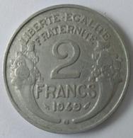 2 Francs 1949 B - Morlon - - I. 2 Francs