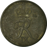 Monnaie, Danemark, Frederik IX, 5 Öre, 1952, Copenhagen, TB+, Zinc, KM:843.1 - Dänemark