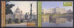 2003 UNO WIEN   Mi. 387-8**MNH      UNESCO-Welterbe In Österreich - Vienna - Oficina De Las Naciones Unidas