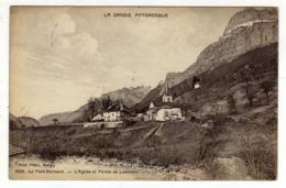 Cpa N° 1034 LE PETIT BORNAND LES GLIERES L ' Eglise Et Pointe De Leschaux - Frankrijk