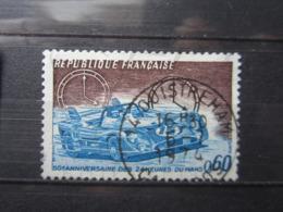 """VEND BEAU TIMBRE DE FRANCE N° 1761 , OBLITERATION """" OUISTREHAM """" !!! - Francia"""