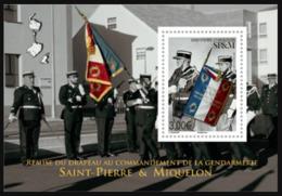 SP & M 2019 - Remise Du Drapeau Au Commandant De La Gendarmerie ** - St.Pierre & Miquelon
