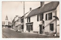 BOURDONNE - L'Auberge - Voiture Citroën 2 CV - Pompe à Essence - épicerie-charcuterie-mercerie-Café - - France