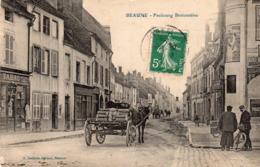 CPA BEAUNE ( 21) - BEAUNE - Faubourg Bretonniere - Hudelot - Beaune