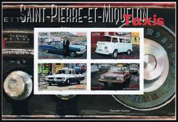 SP & M 2019 - Bloc - Les Taxis ** - St.Pierre & Miquelon