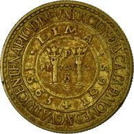 Monnaie, Pérou, Sol, 1965, TTB, Laiton, KM:222 - Pérou