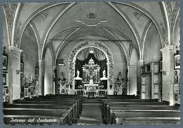 °°° Cartolina - Folgaria Santuario Madonna Delle Grazie Interno Viaggiata °°° - Trento