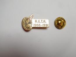 Beau Pin's , Armée Militaire , AETA , Ecole D'Enseignement Technique De L' Armée De L'Air - Militaria