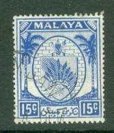 Negri Sembilan: 1949/55   Arms     SG52    15c     Used - Negri Sembilan