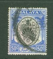 Negri Sembilan: 1949/55   Arms     SG59    50c     Used - Negri Sembilan
