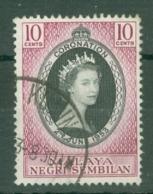 Negri Sembilan: 1953   Coronation      Used - Negri Sembilan