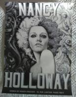 AFFICHE ANCIENNE ORIGINALE PSYCHEDELIQUE NANCY HOLLOWAY Dessin R. Croizier - Plakate & Poster
