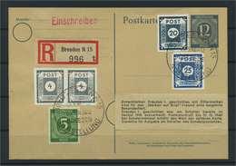SBZ 1946 Postkarte Siehe Beschreibung (117769) - Sowjetische Zone (SBZ)