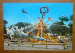 Giostra Parco Divertimenti EDENLANDIA Napoli  CARTOLINA Non Viaggiata - Disney