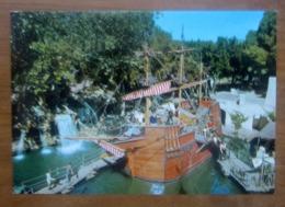 Giostra Pirati Parco Divertimenti EDENLANDIA Napoli  CARTOLINA Non Viaggiata - Disney
