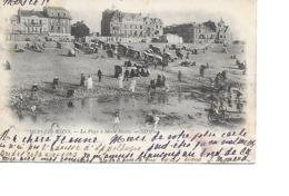 80 MERS LES BAINS Cpa La Plage à Marée Haute 40 ND Phot - Mers Les Bains