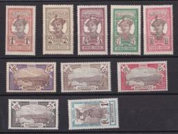 Martinique N° 61 à 75** Sans Le 66-67-68-69-71 - Nuevos