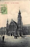 Belgique - Bruges - La Gare ( Entrée ) - Edit. Van Den Heuvel N° 6 - Brugge