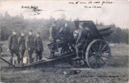 Brasschaat - Polygone - Armée Belge - Tir Au 155 Mm - Brasschaat