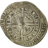 Monnaie, France, Jean II Le Bon, Gros Blanc Aux Fleurs De Lis, TB+, Argent - 987-1789 Royal