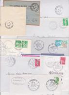 Lot 21 Lettres Departement 25 DOUBS ( Port Payé PP JOURNAUX DIRECTION FOIRE ) Besançon Montbeliard Malbuisson ... - Marcofilia (sobres)