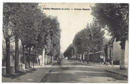 91 - CHILLY-MAZARIN - Avenue Mazarin - 1944 - Bombardement, DCA, Avions Dans La Correspondance - Chilly Mazarin