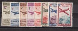 Réunion N°10 à 17** Par Avion - Réunion (1852-1975)