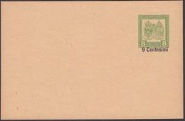 Austria - Italy 1918, Austro-Hungarian Empire, K.u.K. FELDPOST (9 Centisimi MiNr. FP 5 Habsburger - Wappen). - Entiers Postaux