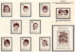 YEAR INTERN. OF CHILD - RWANDA  - Mi. Nr.  992/1000 + BF 86 - NH - (6532-17.) - Rwanda