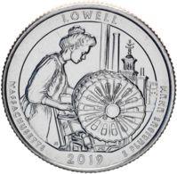 USA. Coin. 25 Cents. Quarter 46th Park. 2019. UNC. Lowell P - Bondsuitgaven